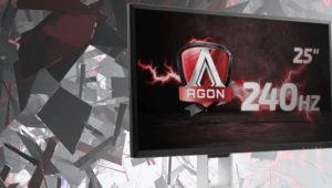 Analizamos el AOC Agon AG251FZ, monitor con FreeSync a 240 Hz