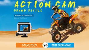 Si buscas una cámara de acción, mira qué ofertas de MGCool y Elephone