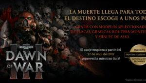 Asus regalará Dawn of War III por la compra de algunos de sus productos