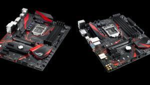 Asus saca dos nuevas placas base ROG Strix para el chipset Intel B250