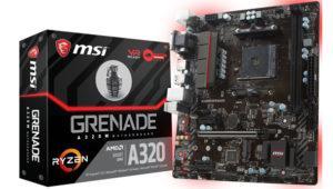 MSI empieza a mostrar cariño por las placas base con chipset A320