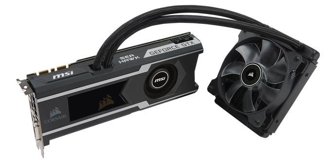 MSI anuncia su nueva tarjeta gráfica Geforce GTX 1080 Ti Sea Hawk