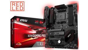 Así es la nueva placa X370 Gaming Pro de MSI para el socket AM4