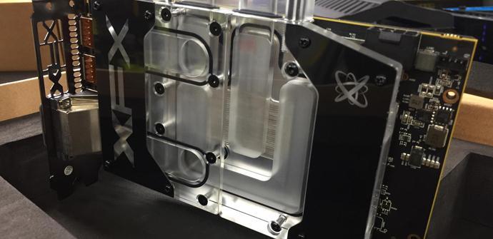Ver noticia 'Suben una Radeon RX 580 hasta los 1,5 GHz con una refrigeración líquida'