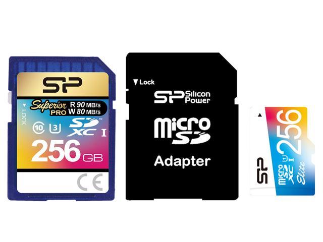 Las nuevas tarjetas de memoria de Silicon Power de 250 GB