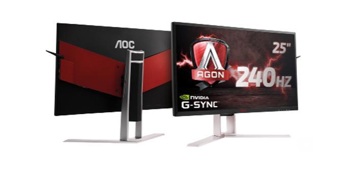 Ver noticia 'AOC amplía de nuevo su familia Agon con el AG251FG a 240 Hz'