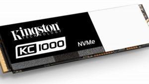 Kingston lanza los nuevos SSDNow KC1000, con interfaz PCIe NVMe