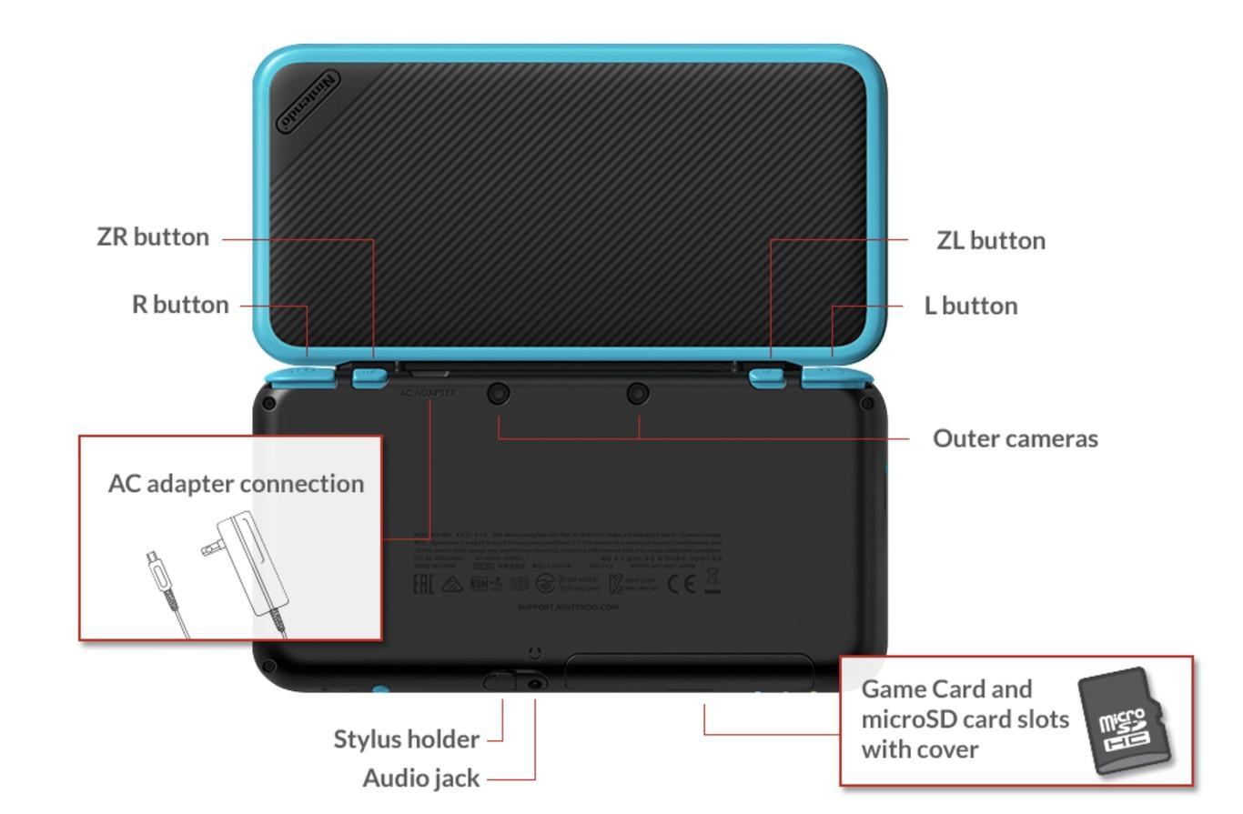 new nintendo 2ds xl la nueva consola de nintendo una 3ds sin 3d. Black Bedroom Furniture Sets. Home Design Ideas