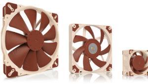 Noctua expande su catálogo de ventiladores de la serie A con nuevos modelos