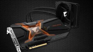 Aorus prepara una GeForce GTX 1080 Ti pasada por agua