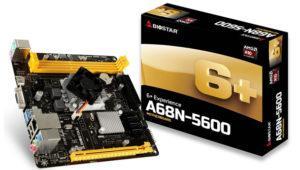 Biostar anuncia su placa base A68N-5600 con procesador integrado
