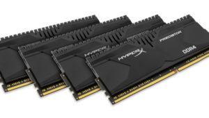 HyperX presenta sus nuevos kits de memoria Predator DDR4 4000
