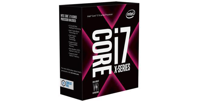 Los Core i7-7700K son mejores que los Core i7-7800X en Gaming