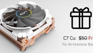 Cryorig ofrece gratis el disipador perfecto para emplearse con la caja Taku