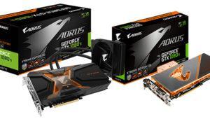 Aorus anuncia tarjetas gráficas Geforce GTX 1080 Ti con refrigeración líquida