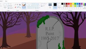 Microsoft Paint ha muerto. Microsoft lo sustituye con el Paint 3D definitivamente