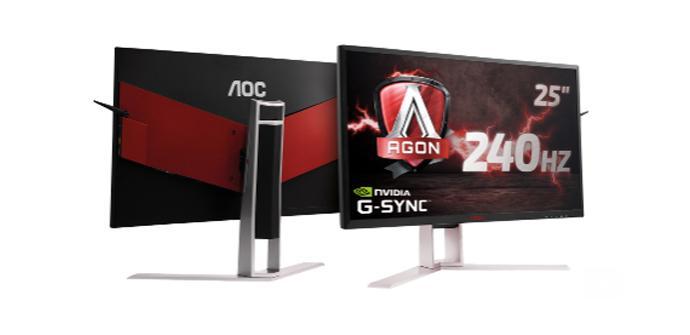 Ver noticia 'AOC AGON³: monitores con 0,5 ms de tiempo de respuesta, para 2018'