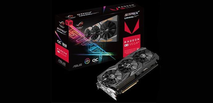 Ver noticia 'Asus ya tiene listo su modelo de Radeon RX Vega personalizado'