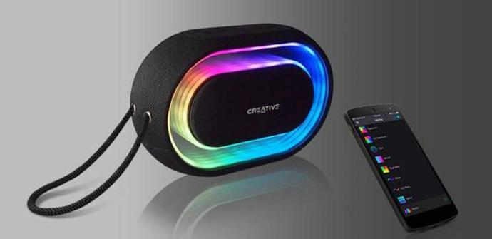 Ver noticia 'Creative Halo, altavoz portátil Bluetooth con iluminación RGB'