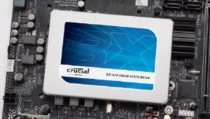 Los nuevos SSDs Crucial BX300 serán rápidos y baratos