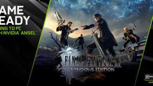 Final Fantasy XV llegará a PC en 2018 de la mano de NVIDIA