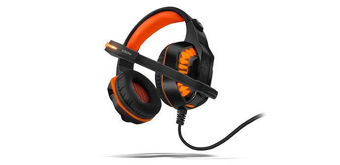 Ver noticia 'Los Krom Konor 7.1 serán unos auriculares gaming baratos y resultones'