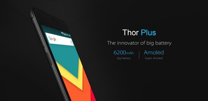 Ver noticia 'Vernee Thor Plus: versión renovada con una enorme batería'