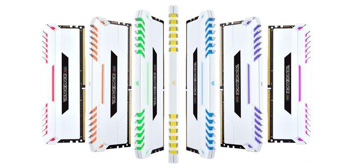 Ver noticia 'Corsair presenta las nuevas memorias DDR4 Vengeance RGB White'