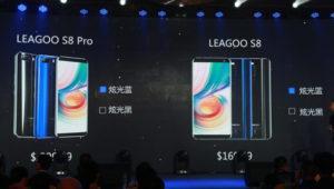 Leagoo lanza oficialmente sus nuevos topes de gama, S8 y S8 Pro