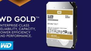 WD reactiva la serie Gold de discos duros con unidades de 12 Tb