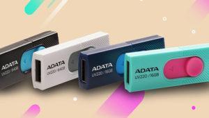 Los nuevos pen drives ADATA UV220 y UV320 no requerirán capucha