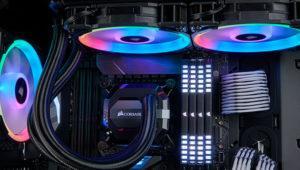 Ilumina tu caja de la mano de la serie de ventiladores Corsair LL RGB
