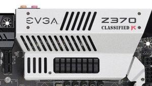 EVGA también presenta sus tres nuevas placas base con el chipset Z370