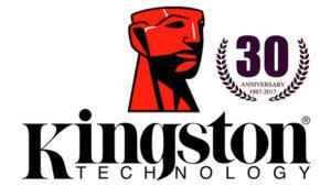 Kingston cumple 30 años como uno de los líderes en productos tecnológicos