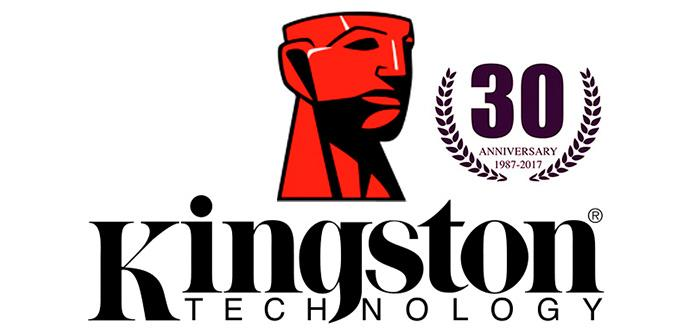 Ver noticia 'Kingston cumple 30 años como uno de los líderes en productos tecnológicos'