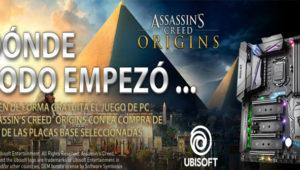 MSI regala Assassin's Creed: Origins con sus placas y equipos completos