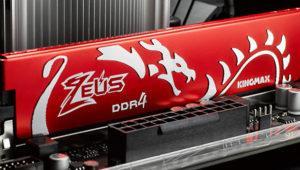 Las memorias Kingmax Zeus Dragon serán compatibles con Ryzen