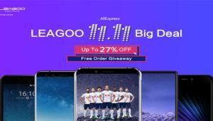 Los móviles Leagoo están baratísimos con las ofertas chinas del 11.11