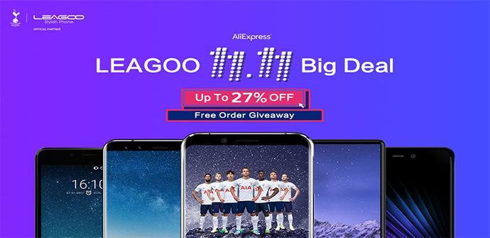 Ver noticia 'Los móviles Leagoo están baratísimos con las ofertas chinas del 11.11'
