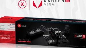 El nuevo kit EK Fluid Gaming A240R incorpora bloque para las RX Vega