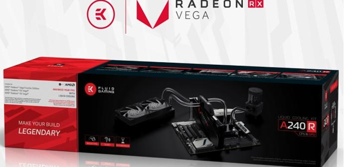 Ver noticia 'El nuevo kit EK Fluid Gaming A240R incorpora bloque para las RX Vega'