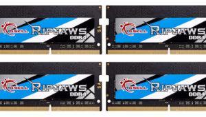 G.Skill quiere la corona de la velocidad en la RAM en formato SO-DIMM