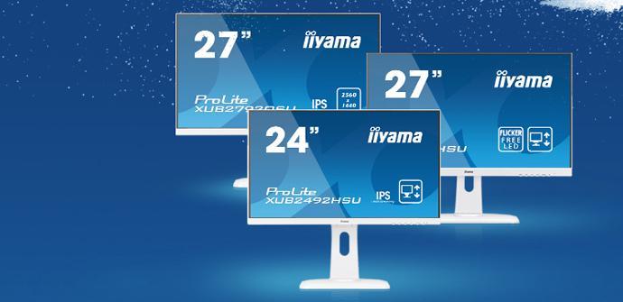 Ver noticia 'Algunos Iiyama ProLite se decoran de color blanco para la Navidad'