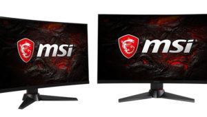 MSI completa su serie de monitores Optix MAG con dos nuevos modelos