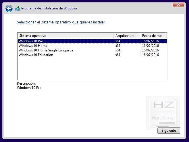 diferencias del windows 10 home y pro