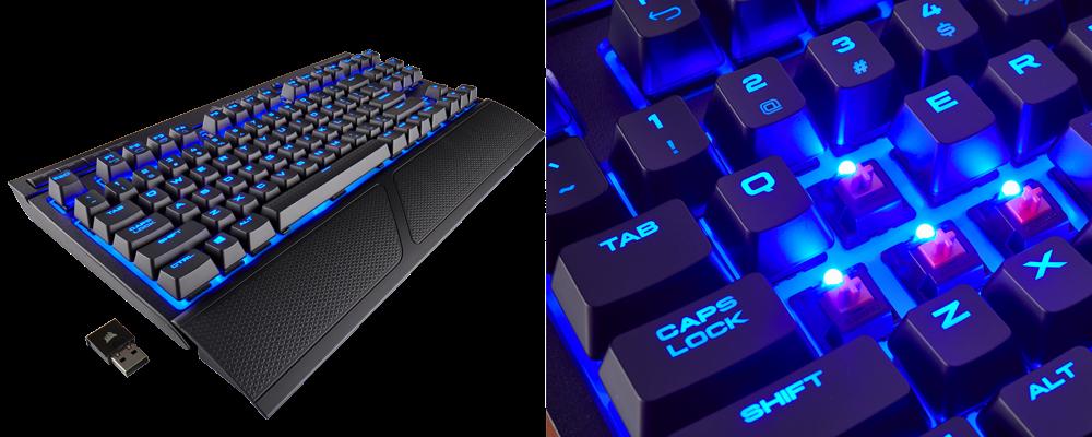 Nuevo teclado inalámbrico Corsair K63