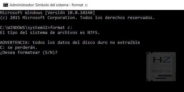 formatear e instalar windows 10 desde una usb booteable