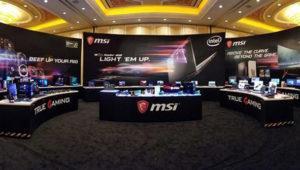 Nuevos portátiles gaming MSI: primeros con WiFi a casi 2 Gbps y leds RGB traseros