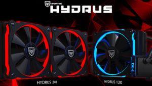 Hydrus 120 y 240: nuevas refrigeraciones líquidas baratas de Nfortec