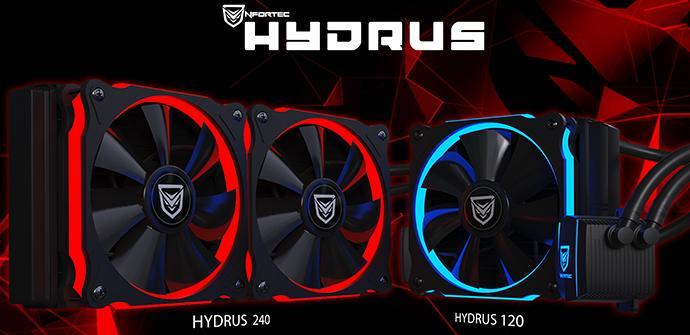 Ver noticia 'Hydrus 120 y 240: nuevas refrigeraciones líquidas baratas de Nfortec'